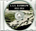 USS Randolph CVA 15 CRUISE BOOK 1953 1954 CD  RARE Navy