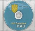 USS Ranger CVA 61 1957 Cruise Book on CD RARE