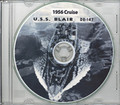 USS Blair DE 147 1956 Cruise Book on CD RARE