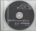 USS Heermann DD 532 1956 - 1957 Med Cruise Book CD RARE