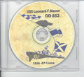 USS Leonard F Mason DD 852 1956 - 1957 Cruise Book on CD RARE