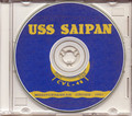 USS Saipan CVL 48 CRUISE BOOK Log MED 1951 CD