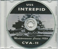 USS Intrepid CVA 11 1956 Med CRUISE BOOK CD US Navy