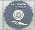USS Intrepid CVA 11 1958 CRUISE BOOK CD  RARE US Navy