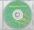 USS James C Owens DD 776 1953 - 1954 CRUISE BOOK CD