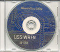 USS Wren DD 568 1953 54 World Cruise Book on CD