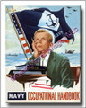 US Navy Recruiting in the 1950s Canvas Print 2D