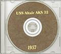 USS Altair AKS 32 1957 Med Cruise Book on CD RARE