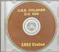USS Colahan DD 658 1951-1952 Korea Cruise Book CD RARE