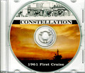 USS Constellation CVA 64 1961 First Cruise Book CD