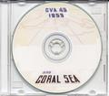 USS Coral Sea CVA 43 MED CRUISE BOOK Log 1953 CD