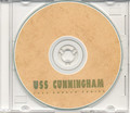 USS Cunningham DD 752 CRUISE BOOK Log Korea 1952 CD