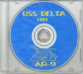 USS Delta AR 9 1955 CRUISE BOOK CD  RARE US Navy