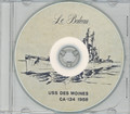 USS Des Moines CA 134 1958 Cruise Book CD RARE Cruiser