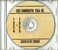 USS Randolph CVA 15 CRUISE BOOK 1954 1955 CD  RARE Navy
