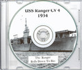 USS Ranger CV 4 1934 South America Cruise Book CD RARE