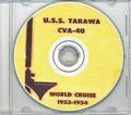 USS Tarawa CVA 40 1953 - 1954 CRUISE BOOK CD US Navy