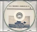 USS Theodore E Chandler DD 717 1953 Cruise Book CD