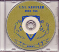 USS Keppler DDE 765 1953 Med Cruise Book on CD