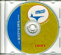USS Kitty Hawk CVA 63 1961 First Cruise Book on CD