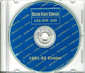 USS Leyte CV 32 1951 1952 Fifth Med Cruise Book CD