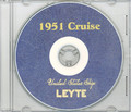 USS Leyte CV 32 1951 MED CRUISE BOOK CD