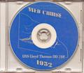 USS Lloyd Thomas DD 764 1952 Med Cruise Book CD
