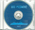 USS Piedmont AD 17 1957 Far East Cruise Book CD