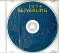 USS William Seiverling DE 441 1954 CRUISE BOOK Log  CD