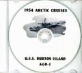 USS Burton Island AGB-1 1954 Arctic Cruise Book CD RARE