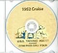 USS Taconic AGC 17 1952 Arctic Cruise Book CD RARE