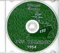 USS Waldron DD 699 1953 1954 World Cruise Book CD RARE