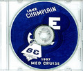 USS Lake Champlain CVS 39 1957 Med Cruise Book CD RARE