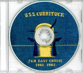 USS Currituck AV 7 1961 - 1962  Cruise Book CD RARE
