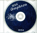 USS Amphion AR 13 CRUISE BOOK 1954 CD