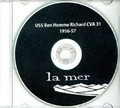 USS Bon Homme Richard CVA 31 CRUISE BOOK 1956-57 CD