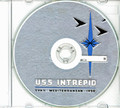 USS Intrepid CVA 11 1959 Med CRUISE BOOK Log CD