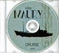USS Maury AGS 16 1959 Med CRUISE BOOK Log CD
