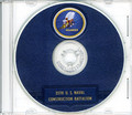 Seabees NCB 35th Naval Construction Battalion Log WWII CD RARE