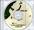 USS Catamount LSD 17 CRUISE BOOK Log Westpac 1962 - 1963 crew photos CD