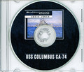 USS Columbus CA 74 1954 - 1955  MED CRUISE BOOK Log Crew Photos CD