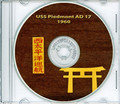 USS Piedmont AD 17 1960 West Pac Cruise Book Crew Photos CD