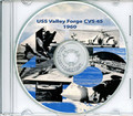 USS Valley Forge CVS 45 1960 Cruise Book Log Crew Photos CD RARE