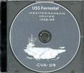 USS Forrestal CVA 59 MED CRUISE BOOK Log 1959 CD