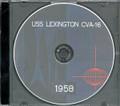 USS Lexington CVA 16 1958 Westpac Cruise Book on CD RARE