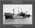 USS Acubens AKS 5 Personalized Ship Canvas Print
