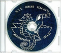 USS Juneau CLAA 119 CRUISE BOOK Log MED 1954 - 1955 CD