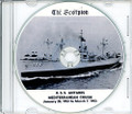 USS Antares AK 258 1953 Med Cruise Book CD