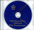 USS Mars AFS 1 1963 - 1964 Westpac Cruise Book CD