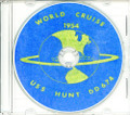USS Hunt DD 674 1954 World CRUISE BOOK on CD Navy USN